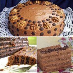 Gabon torta bez trunke brašna