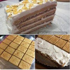 NOVA ŠEHERZADA TORTA KOJA SE NE PEČE, detaljan recept